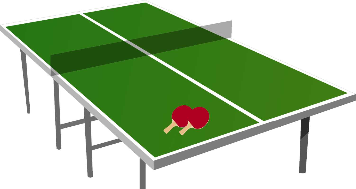 Official Size for Ping Pong Table