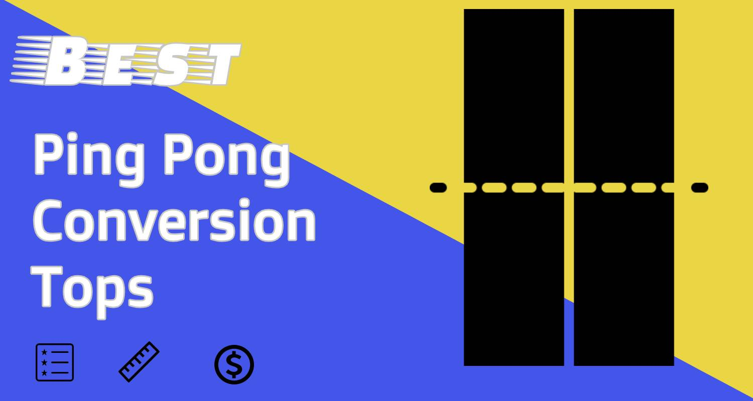 Ping Pong Table Tops for all