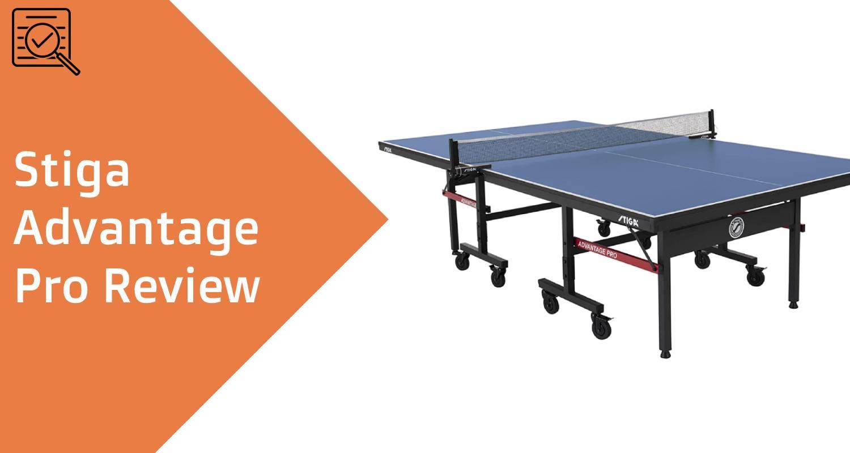 stiga advantage pro review feature