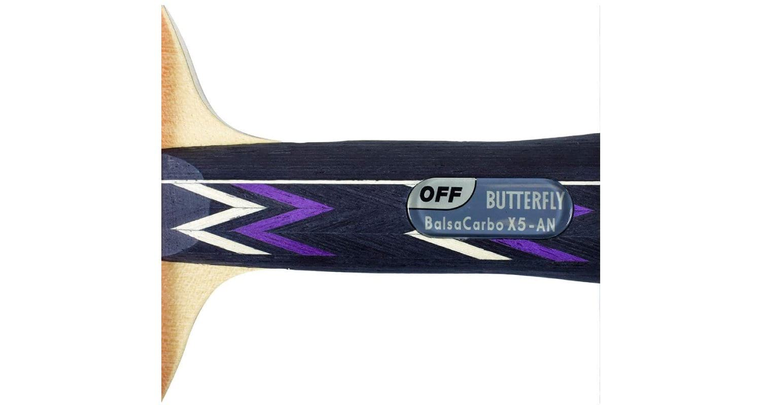 Butterfly Balsa Carbo X5 Tenergy 80 Fx Table Tennis Paddle Review - Wood