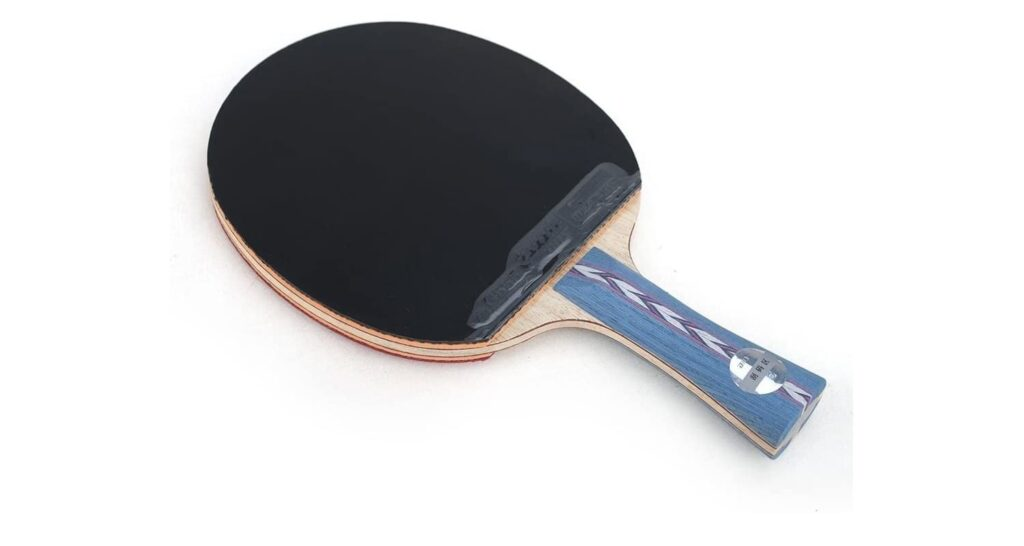 DHS Hurricane II paddle review Black Rubber