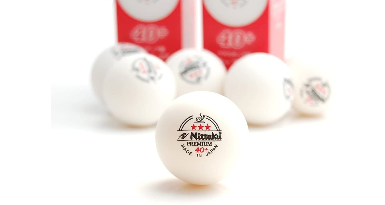 NITTAKU 3-Star Premium 40+ Table Tennis Balls Review - Single Ball