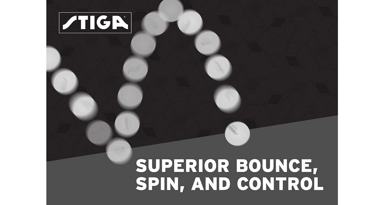 STIGA 3-Star Superior Table Tennis Balls Review - Bounce
