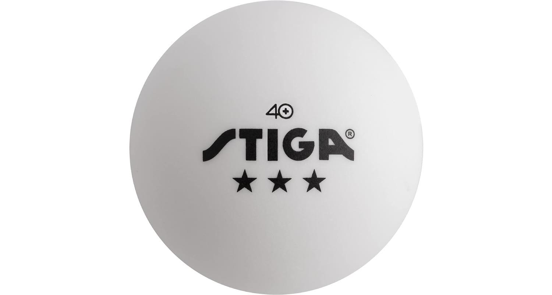 STIGA 3-Star Superior Table Tennis Balls Review - Single Ball