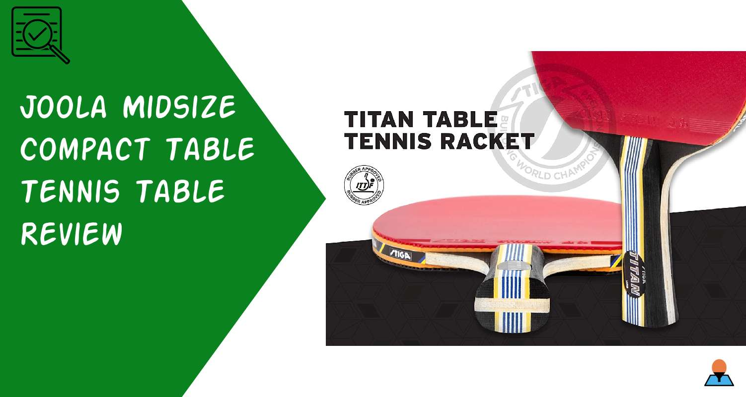 STIGA Titan Ping Pong Paddle Review - Featured