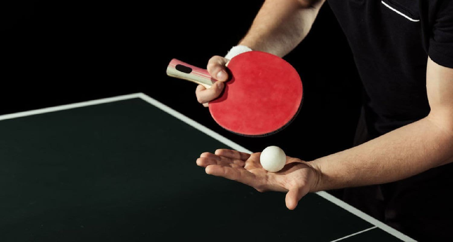 How to replace table tennis rubber