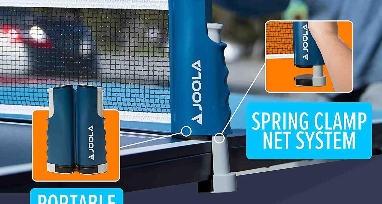 JOOLA Retractable Portable Net and Post