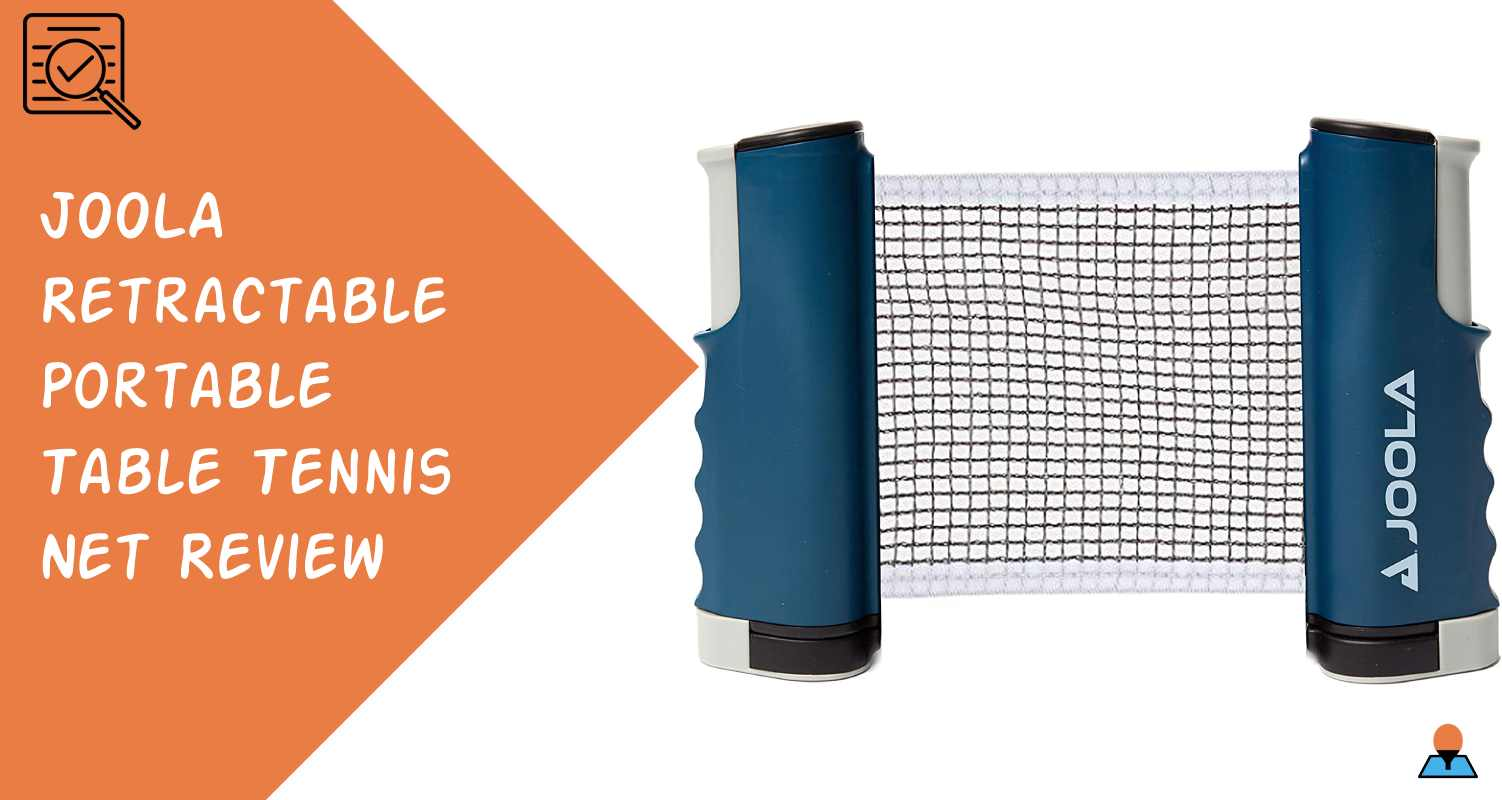 JOOLA Retractable Portable Table Tennis Net Review - Featured