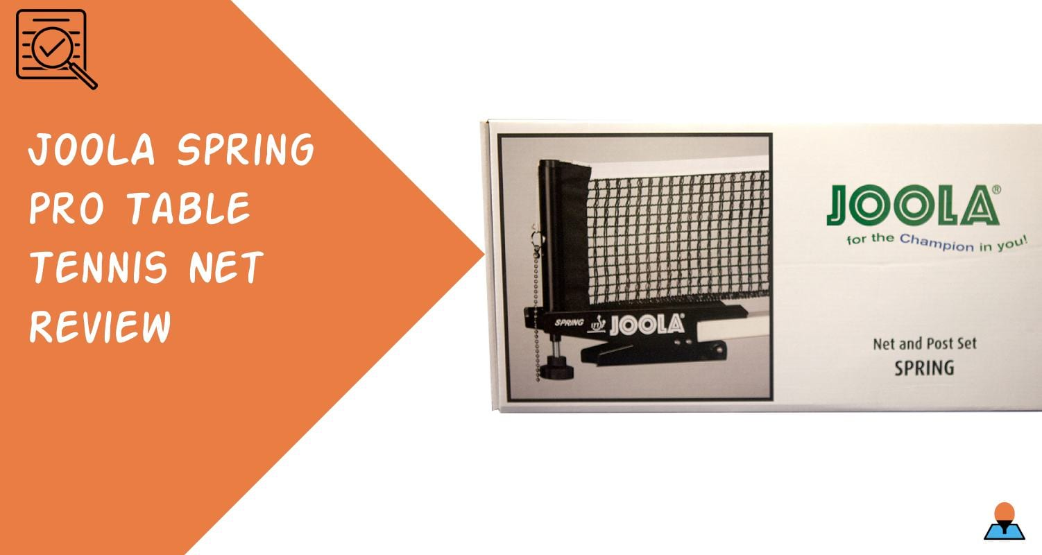 JOOLA Spring Pro Table Tennis Net Review - Featured