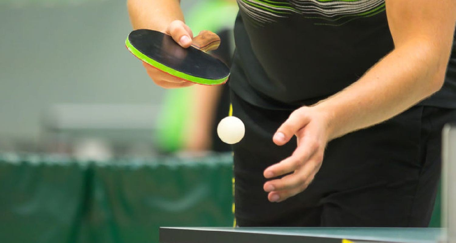 Ping Pong Serve - Featured