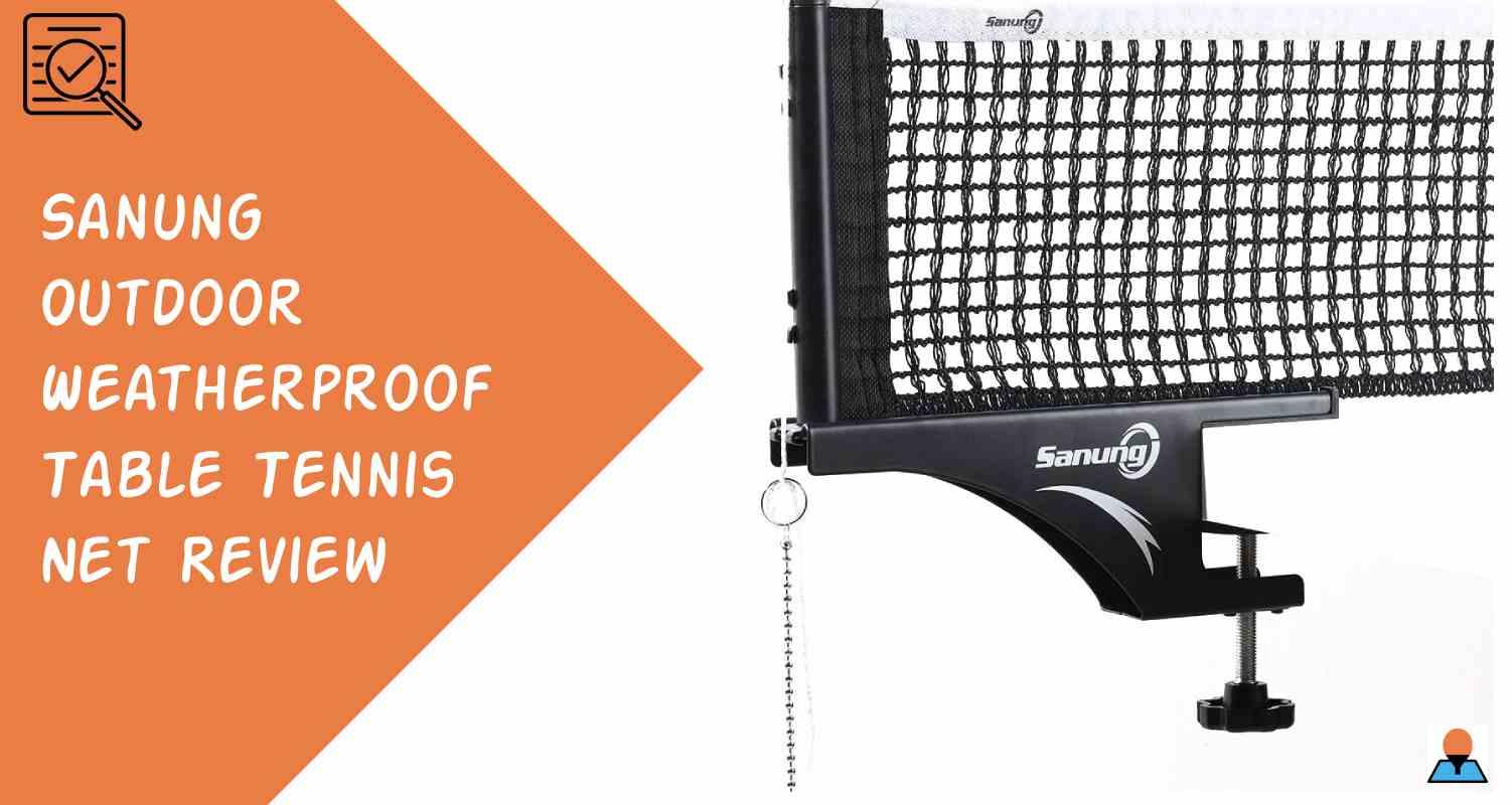 Sanung Outdoor Weatherproof Table Tennis Net Featured